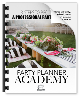 8 Steps to Become a Party Planner