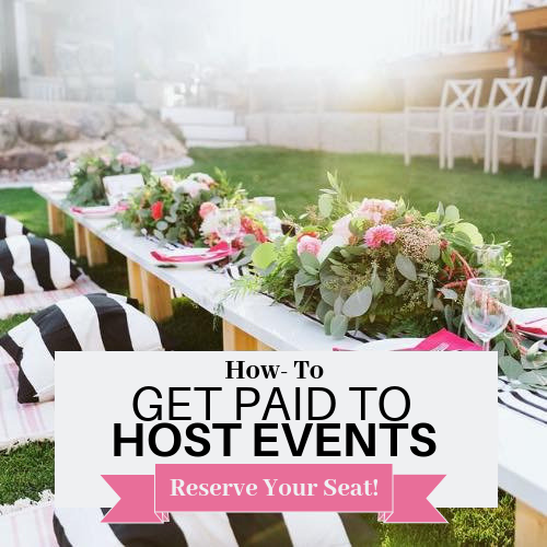 Become a professional event planner